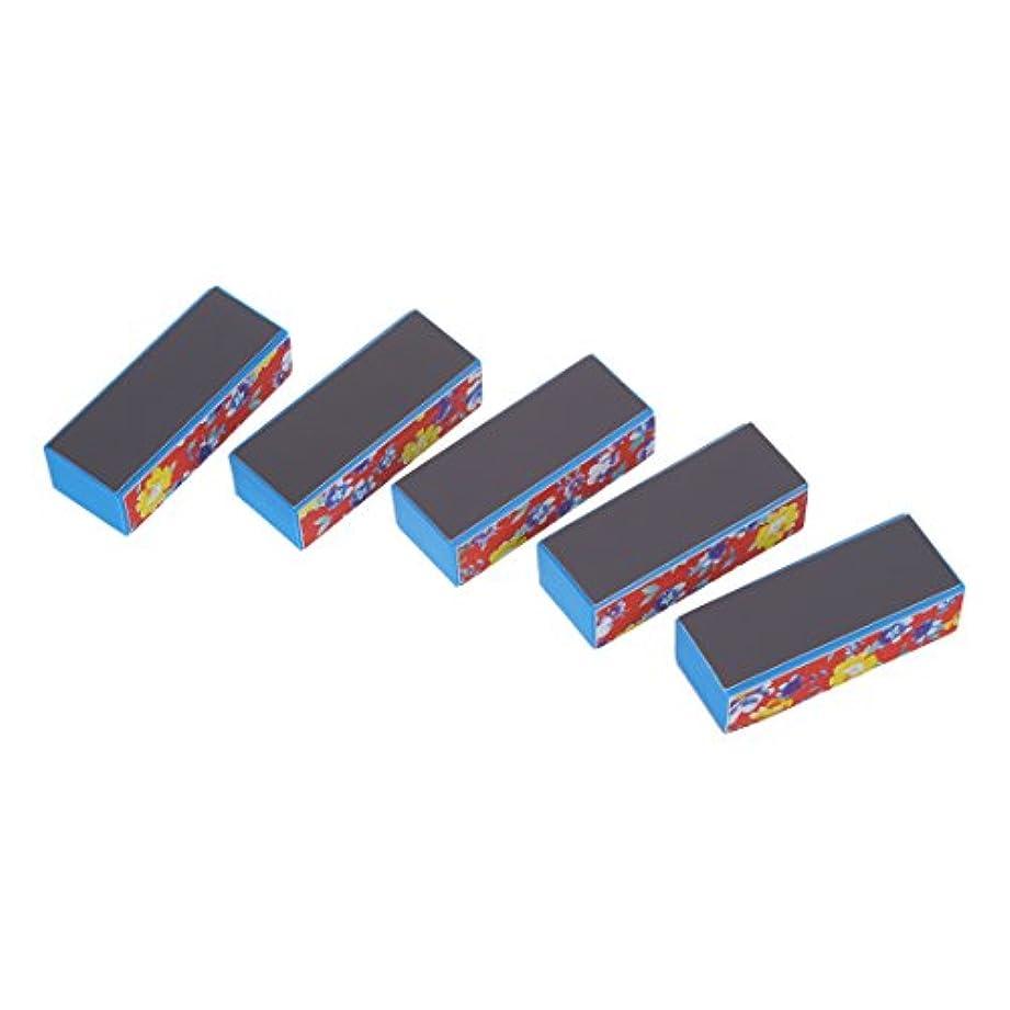 標準医薬品サッカーVaorwne 5ブロック-ファイルバッファ4サイド ネイルアートマニキュア