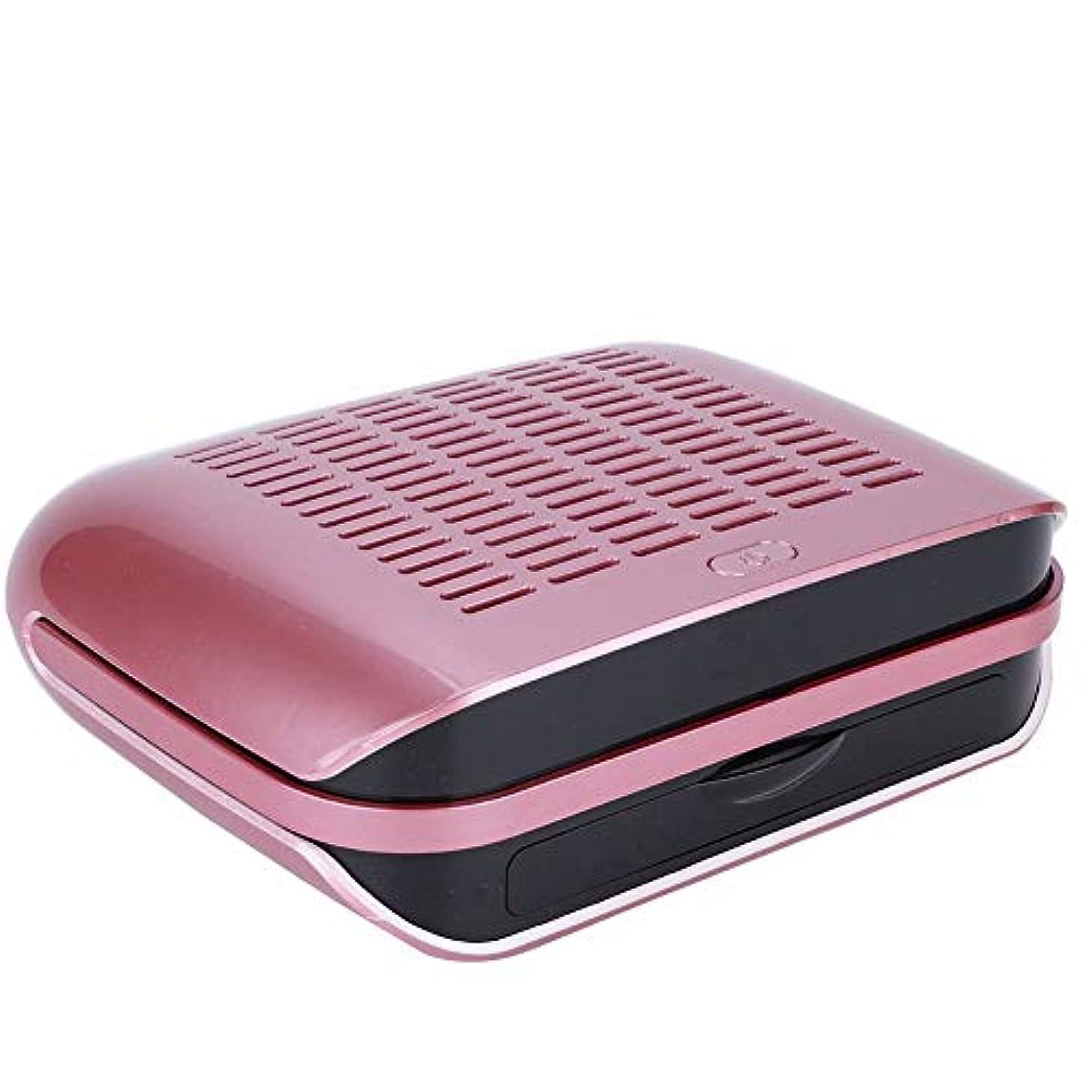 ヒットマッシュ触手ネイルダストコレクター、プロフェッショナル68W超強力ネイルダストは、ホーム/ネイルアートサロン用の統合フィルターボード付きマシンを収集します(US Plug)