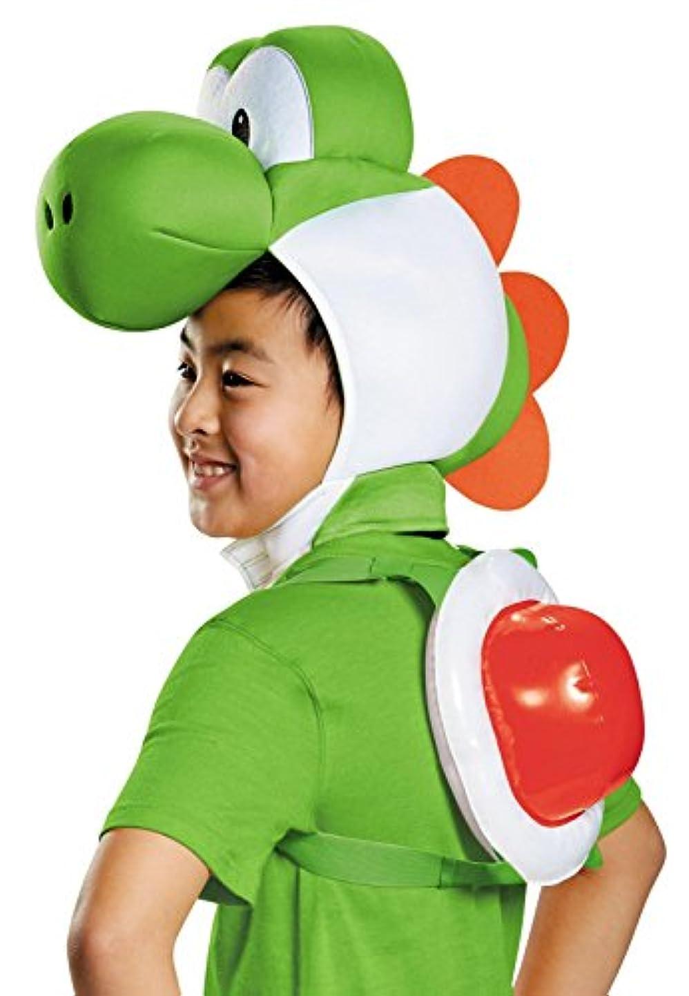 小道高い責任スーパーマリオ ヨッシー 子供用 2点セット Super Mario Bros: Yoshi Child Kit [並行輸入品]