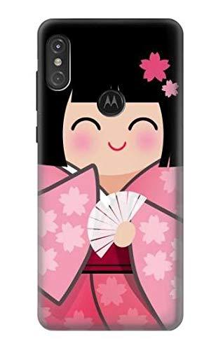 JP3042P3N 雛人形 着物桜 Japan Girl H...