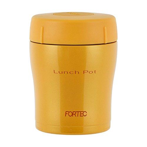 和平フレイズ 弁当箱 300ml オレンジ ランチポット スープ 真空断熱 保温 保冷 フォルテックランチ FLR-6858 B00HBZMRUI 1枚目