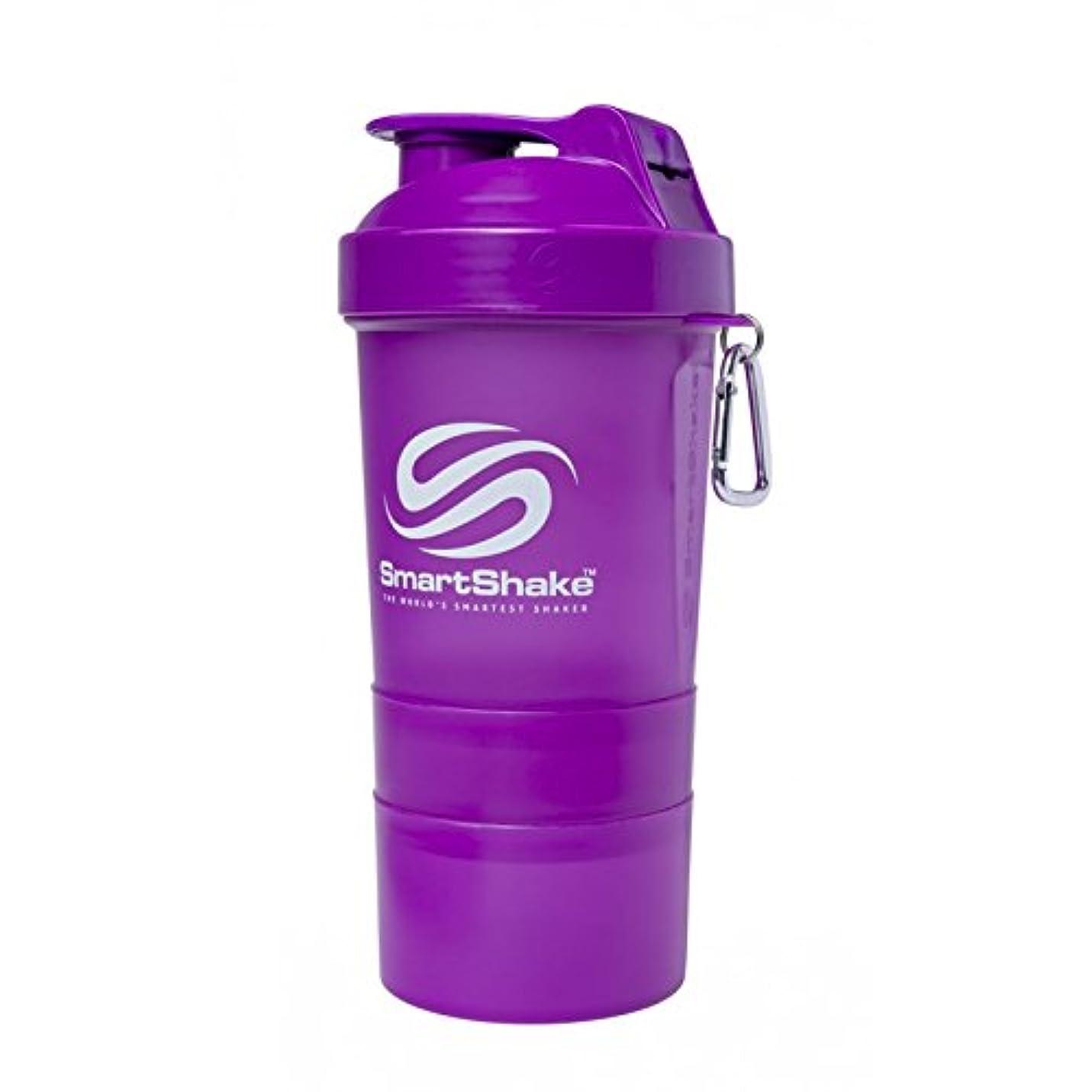 九月帰るつま先SmartShake Original Shaker Cup, Neon Purple, 20 oz by smartshake