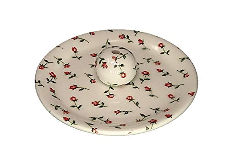 反乱ヒットマーカー9-14 ローズガーデン お香立て 9cm香皿 お香たて 陶器 製造 直売品