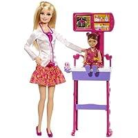 ドクターバービー セット Barbie Careers Complete Play Doctor