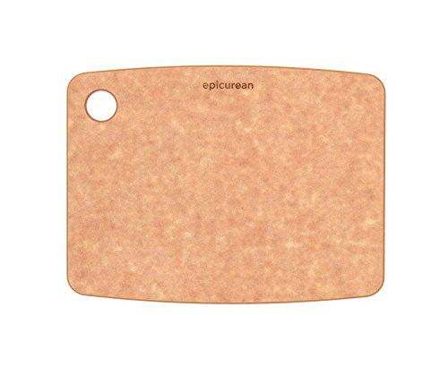 エピキュリアン 木製 まな板 カッティングボード S ナチュラル 食洗機対応 10806N