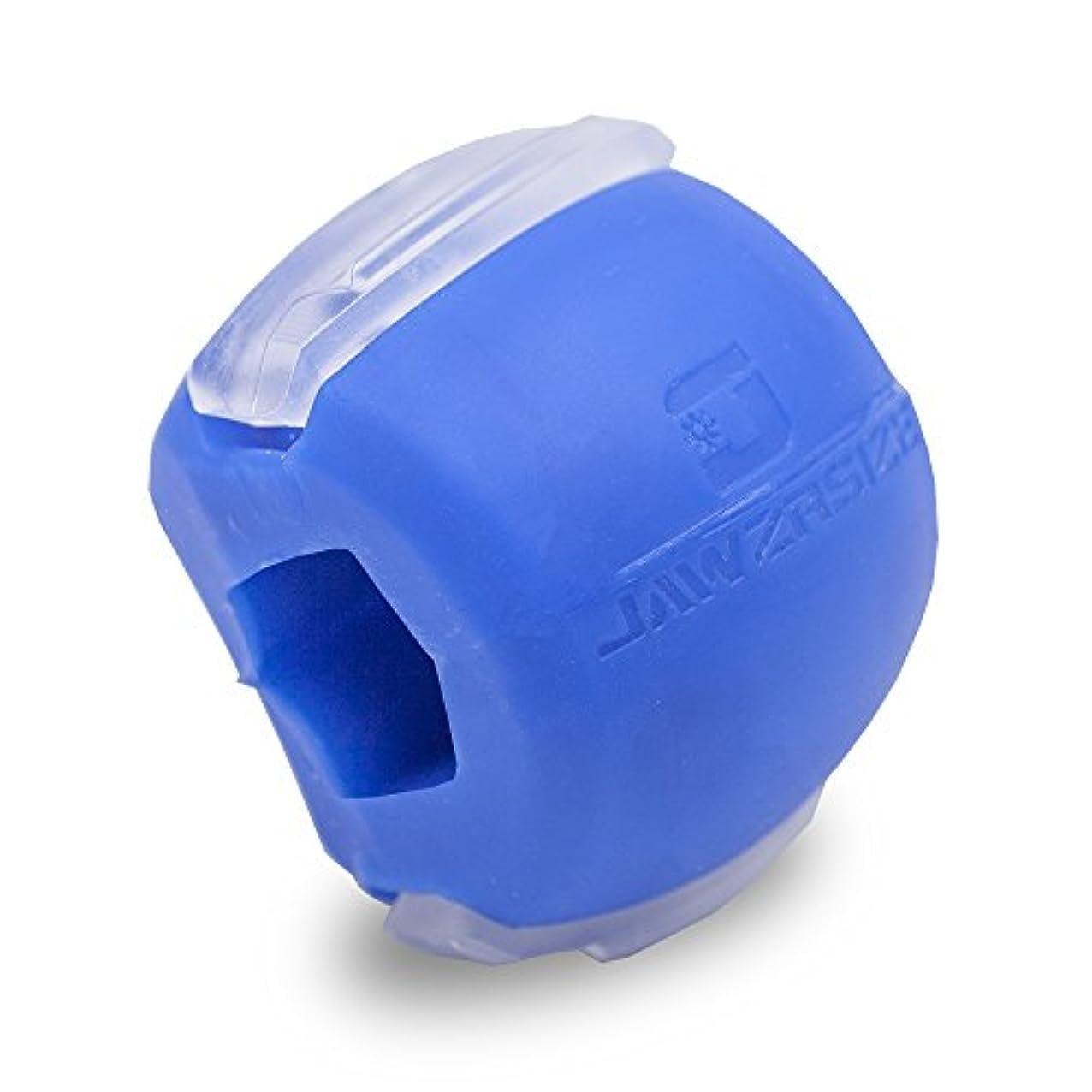 ヒット完全に排除Jawzrsize フェイストナー、ジョーエクササイザ、ネックトーニング装置 (20 Lb. 抵抗) レベル1 - 青