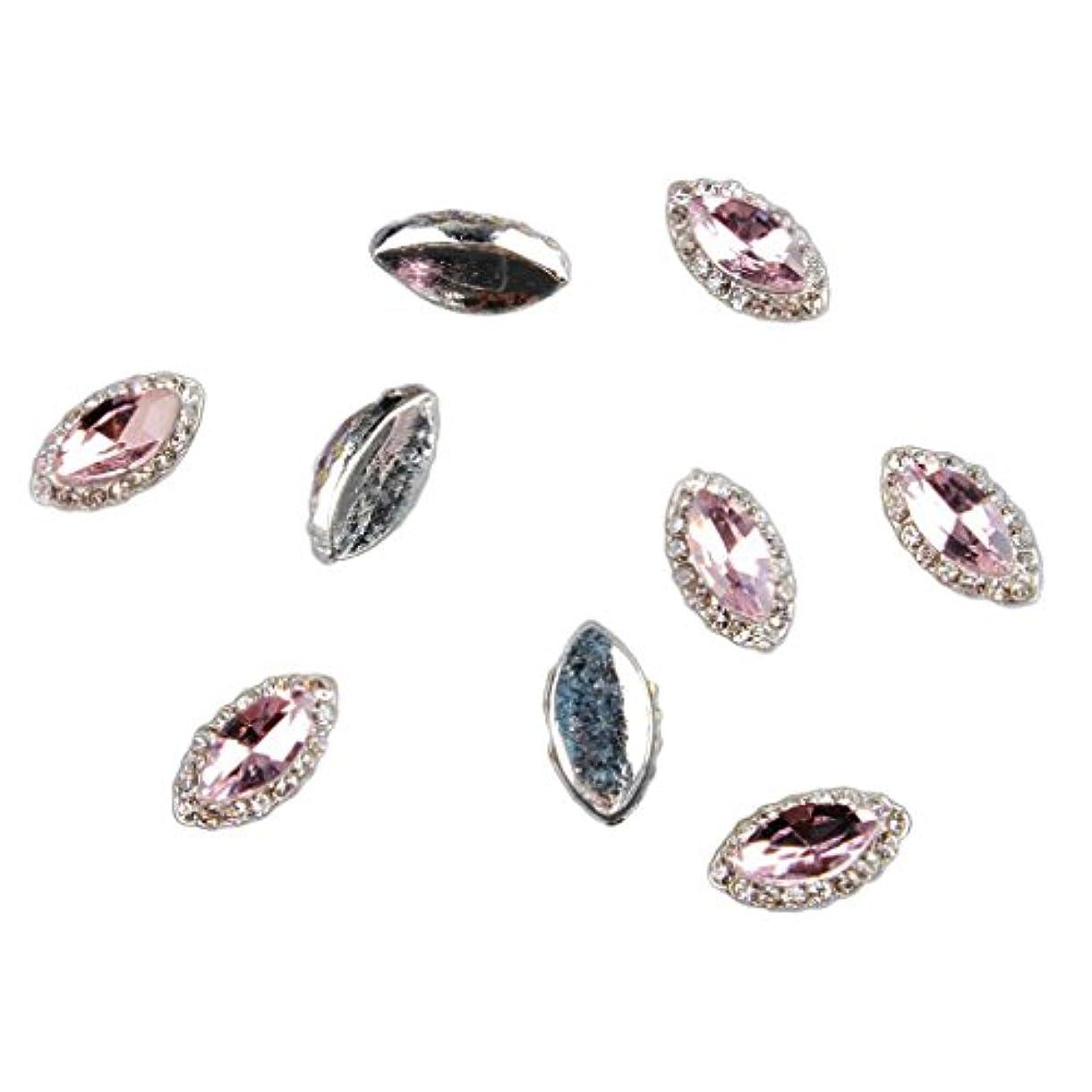 吸収剤階下枯れるネイルアート 3D ネイルステッカー ネイルデコレーション ネイル装飾 全6種類 - ピンク