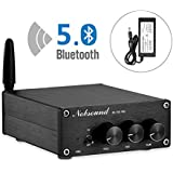 Nobsound NS-15G PRO Bluetooth 5.0 Power Amplifier ; Audio Amp ; Wireless Receiver for Home Speakers ; 200W (100W x 2)