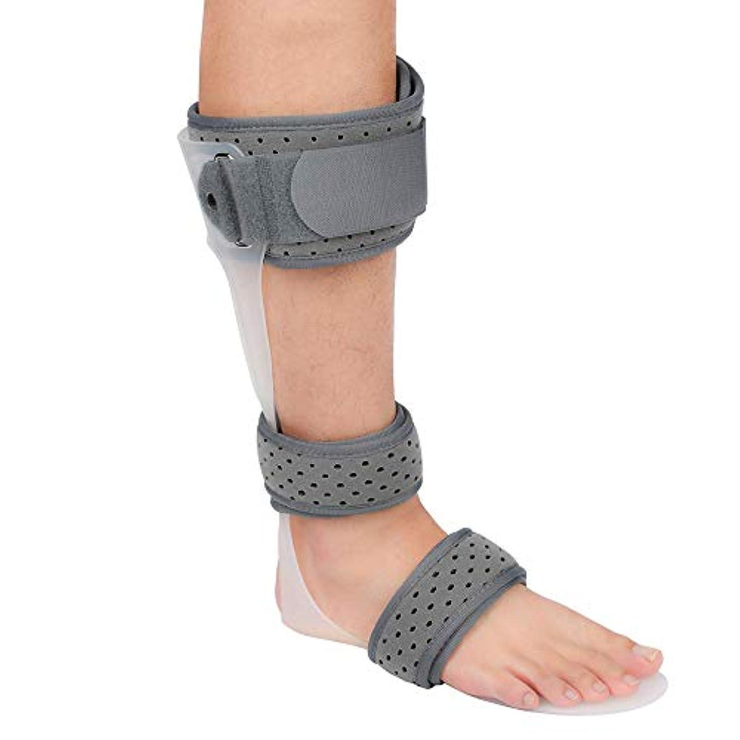 専ら緑薬を飲む足首装具フットドロップブレース、足首スタビライザーブレース、足ドロップ副木、足首保護用補正ブレース
