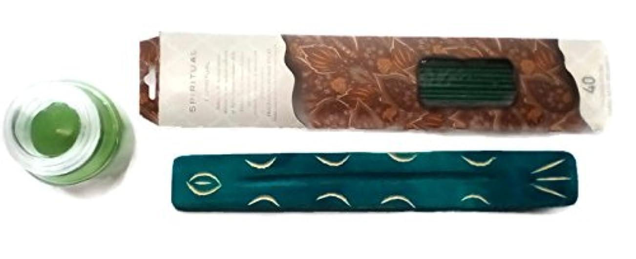 平凡信念ピアノlaxshimi Brzee Incense with Incense Holderバンドル