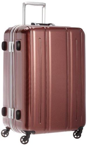 [エバウィン] 軽量スーツケース Be Light 静音キャスター 容量82L 縦サイズ69cm 重量4.2kg 31226 RDC レッ...