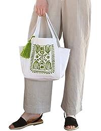 (コーエン) COEN 【Market】エンブロイダリー刺繍トートバッグ 76816038025