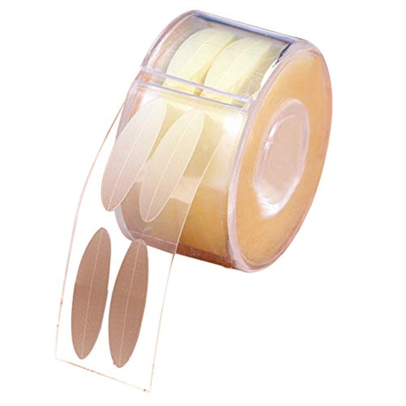 所有権ママベアリング二重まぶたステッカー 目に見えない テープ アイメイク アイライナー 通気 300組 (デザイン4)