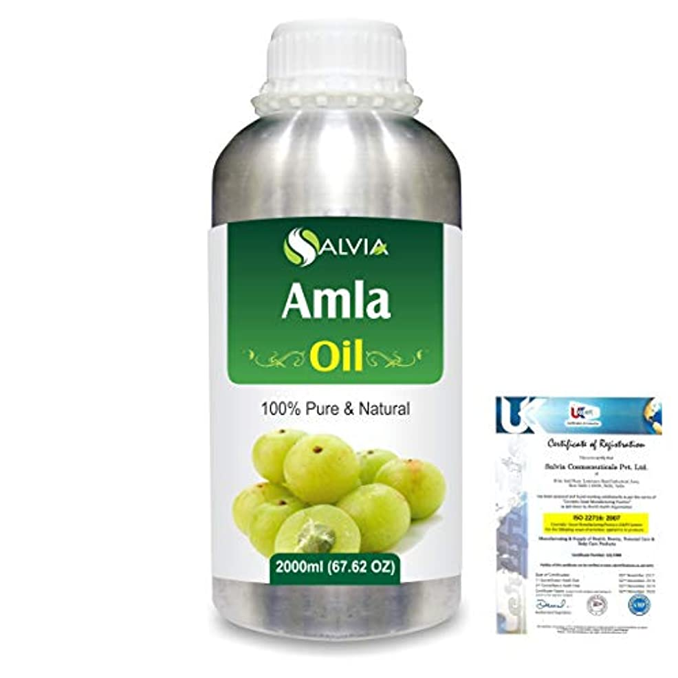 トマト属性うんざりAmla Herbal (Phyllanthus emblica) 100% Natural Pure Oil 2000ml/67 fl.oz.