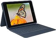 ロジクール iPad 10.2インチ 第9世代 第8世代 第7世代 キーボード一体型ケース Rugged Combo3 iK1054EC 日本語レイアウトキーボード デジタル教育 スマートコネクター シンプルパッケージ