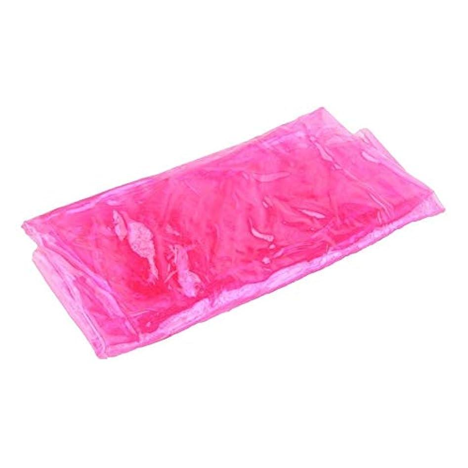考古学的なチーター植木PVCシェイプアップスリミングベルトベリービタボディシェイパー減量サウナベルトライフエッセンシャルオイル/クリームマッサージ/スパソルト(ピンク)