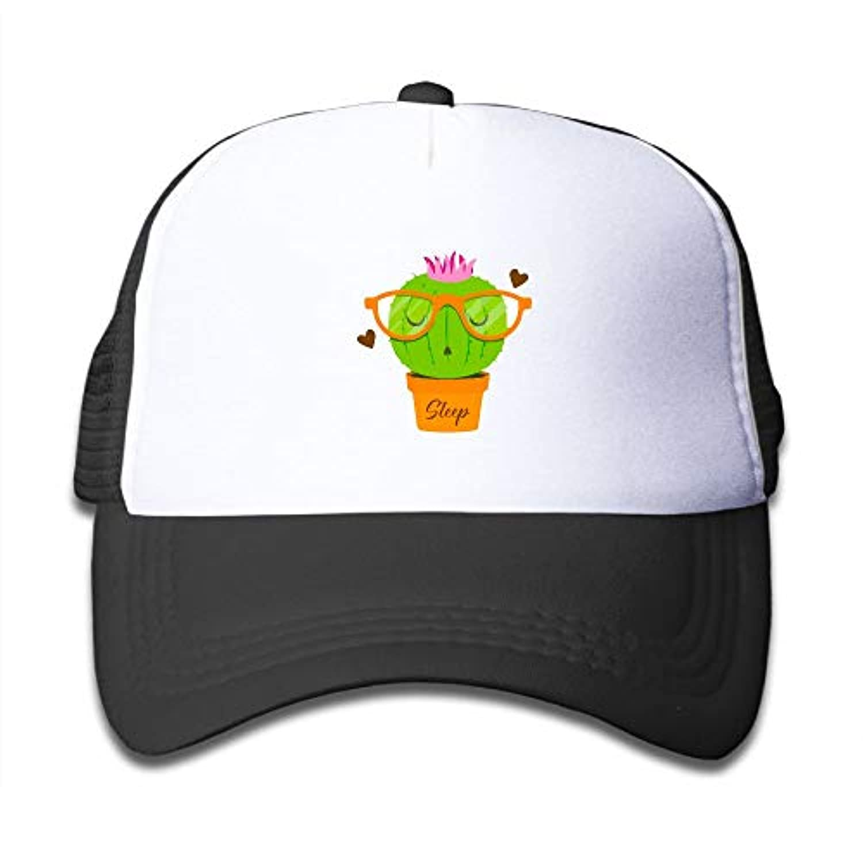 サボテン スリープ 素敵 かわいい おもしろい ファッション 派手 メッシュキャップ 子ども ハット 耐久性 帽子 通学 スポーツ