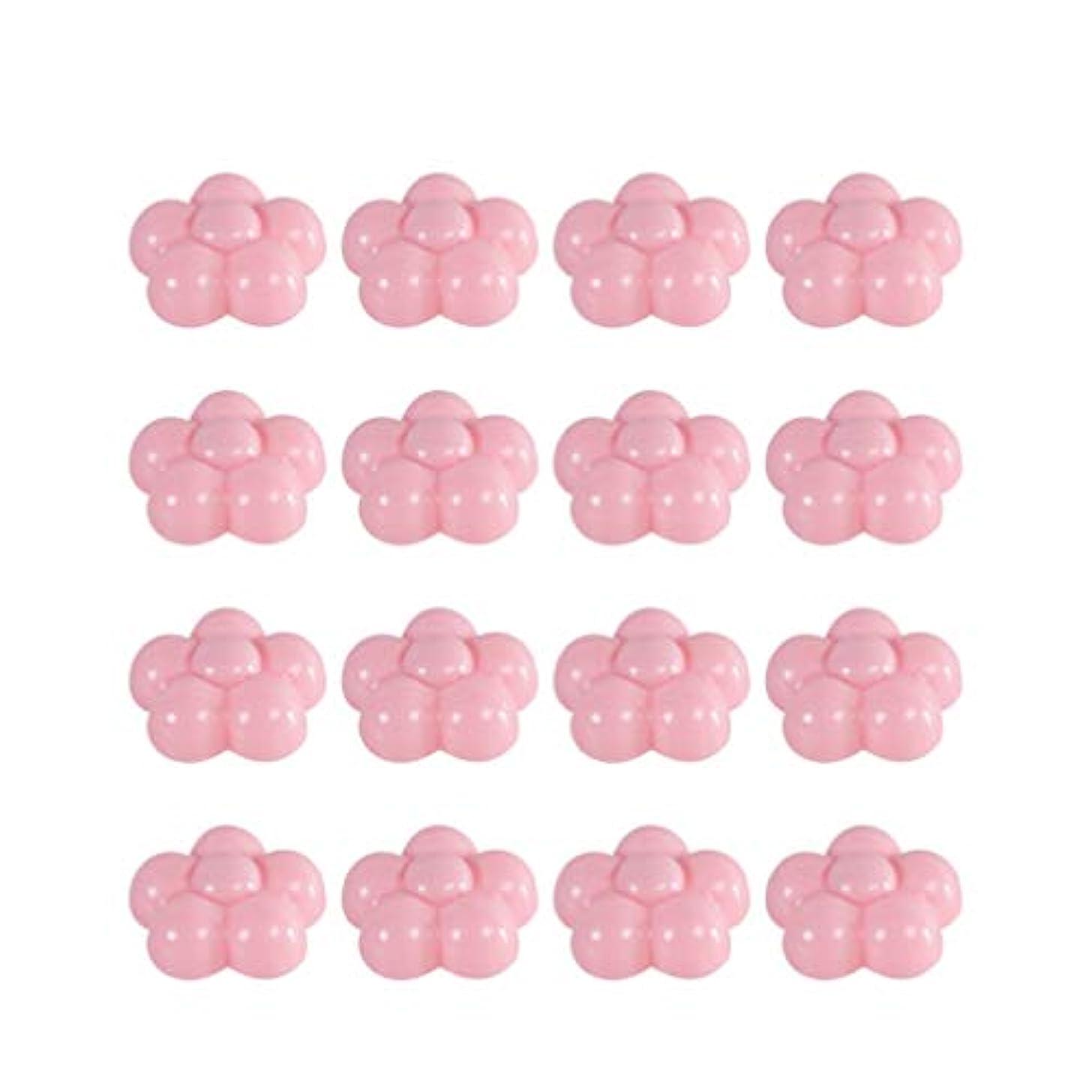 リップ不和信じるVosarea 16pcsベッドスカートピンブロッサムハート型スリップカバー保持ピン滑り止め装飾用シートファスナースリップカバー用ドレープ他の生地や素材をしっかりと縫い付けて家の装飾