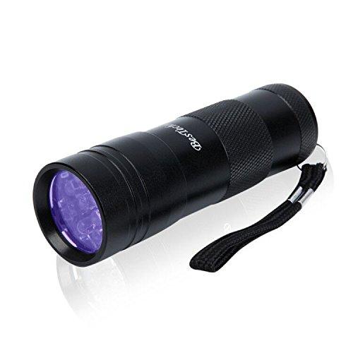ベステクノ 懐中電灯 紫外線ライト UVライト ブラックライトレジン用の硬化ライ...