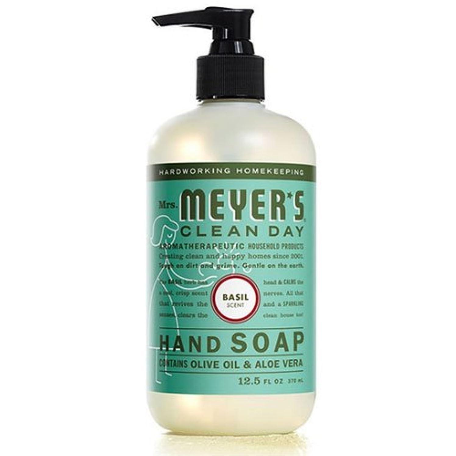 自発的存在する最少Mrs. Meyers's Hand Soap, Liq, Basil, 12.5 FZ by Mrs. Meyers