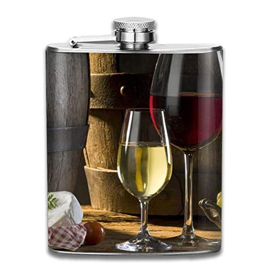 天文学スペクトラム現代のブルームン 酒器 酒瓶 お酒 フラスコ お酒 ワイン ボトル 携帯用 フラゴン ワインポット 7oz 200ml ステンレス製 メンズ U型
