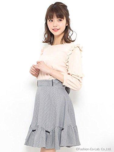 Secret Honey (シークレットハニー)ギンガムミニリボン付スカート