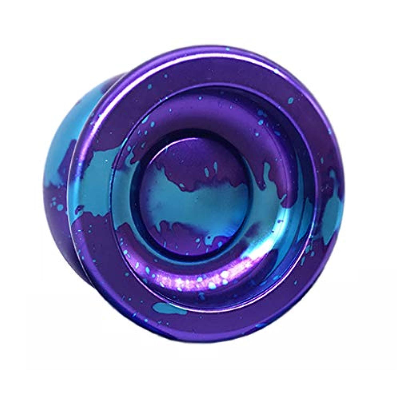 プロフェッショナルゲームレスポンス初心者スピードボールリターンロングヨーヨー ( Color : Purple )