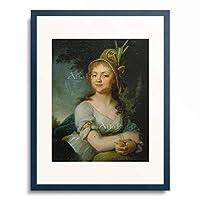 Vladimir Lukich Borovikovsky 「Bildnis der Jekaterina Arsenjeva. 1790-er Jahre.」 額装アート作品