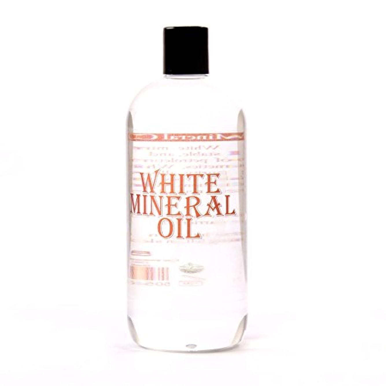 あごひげ個人的にダメージMystic Moments | White Mineral Oil Carrier Oil - 1 Litre - 100% Pure