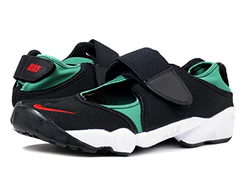 [ナイキ]NIKE AIR RIFT QS BLACK/ATOM RED/FOREST/WHITE [並行輸入品]