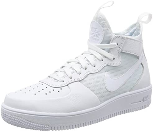 nike air force 1 ultraforce hommes mi blanc - blanc mi e91aab