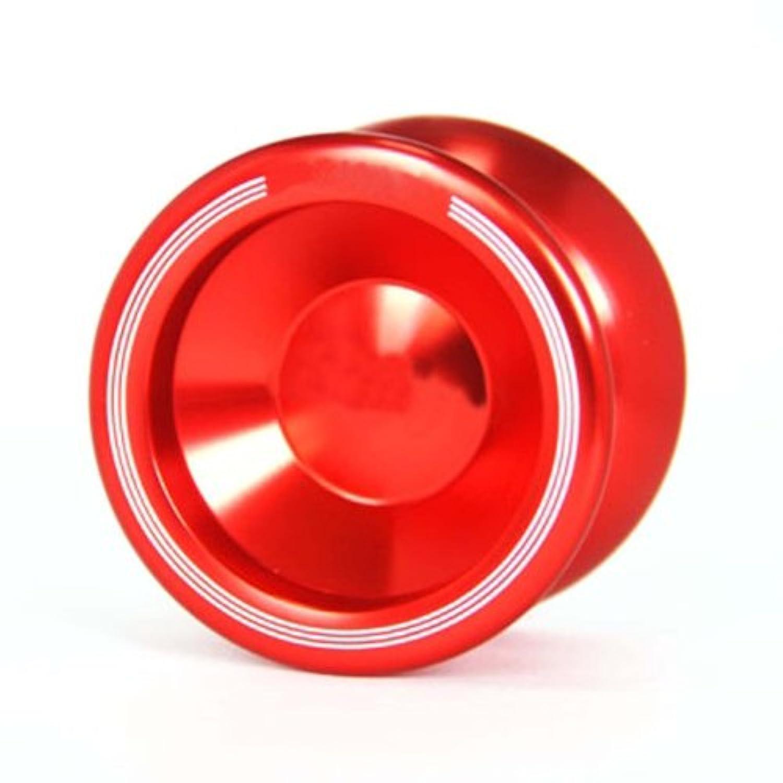 SODIAL(R)マジック ヨーヨー T5 赤 アルミ ヨーヨー