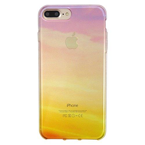 夕焼け柄 クリアソフトケース (iPhone7Plus/8Plus)
