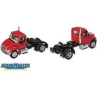 Walthers SceneMaster International 4300 1-Axle Tractor Red [並行輸入品]