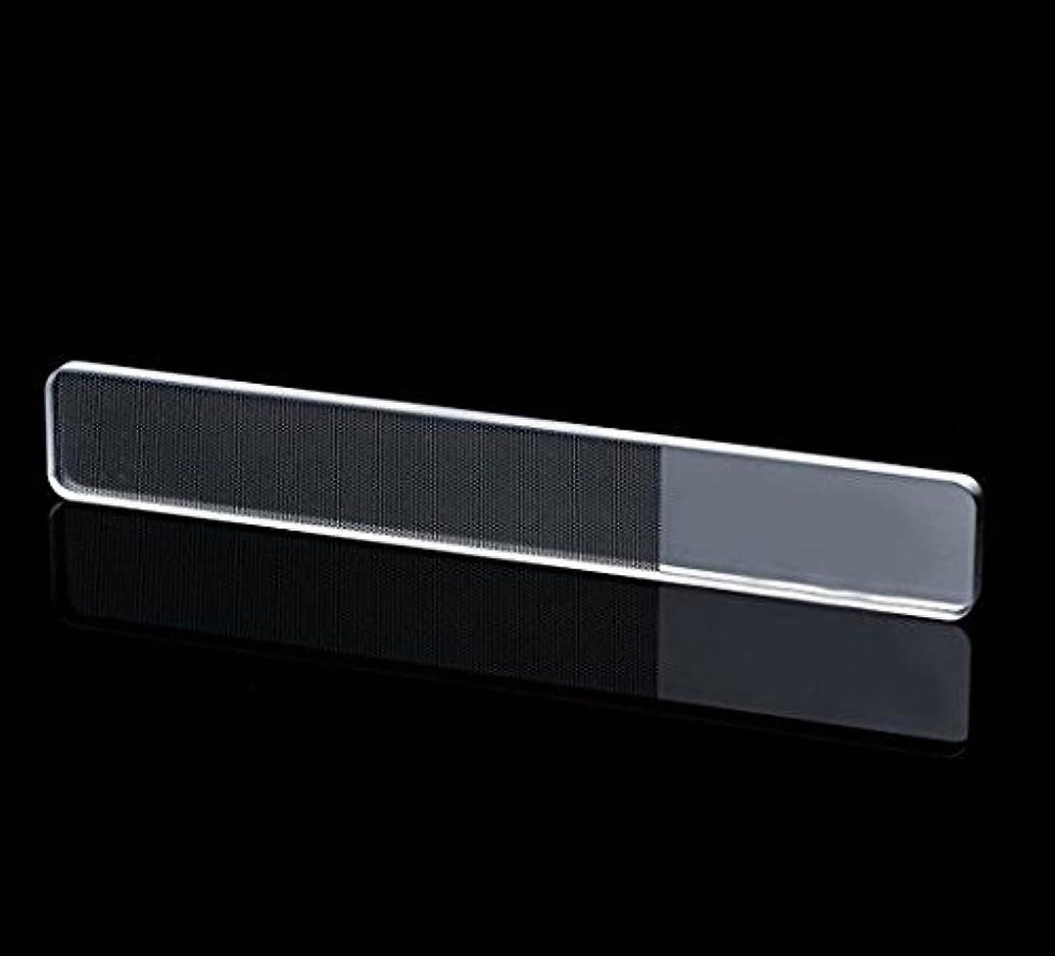 コンデンサーサービス拡張爪磨き ガラス製 爪やすり NISAネイルシャイナー ガラス棒のシャイナー チェコの職人が仕上げたつめやすり ピカピカネイルファイル ネイルケア ツルツルネイルネイル ネイルケア&トップコートの輝きが4週間持続 爪磨き ...