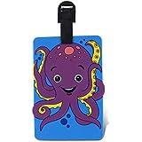 WeGlow International Fun Luggage Tag - Octopus by Virginia Toy [並行輸入品]