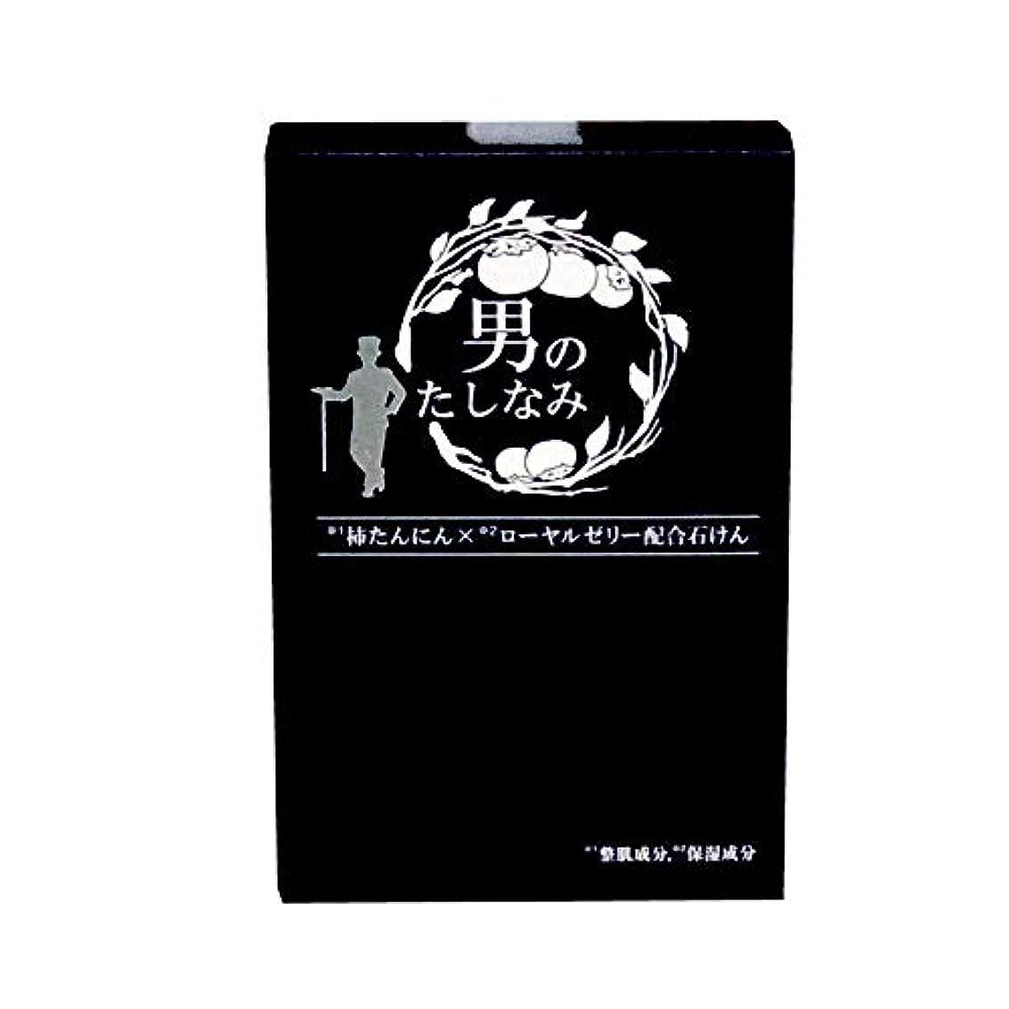 レプリカ消費者魅惑する【初回限定 お試し価格】 柿渋石鹸 男のたしなみ (100g)