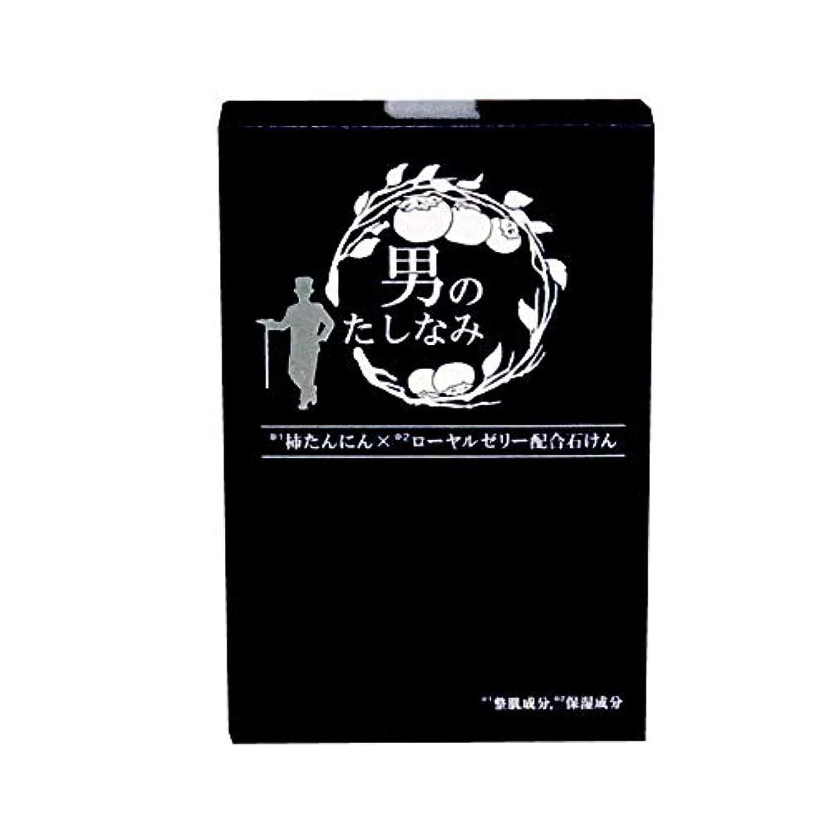 銀河解任機関【初回限定 お試し価格】 柿渋石鹸 男のたしなみ (100g)