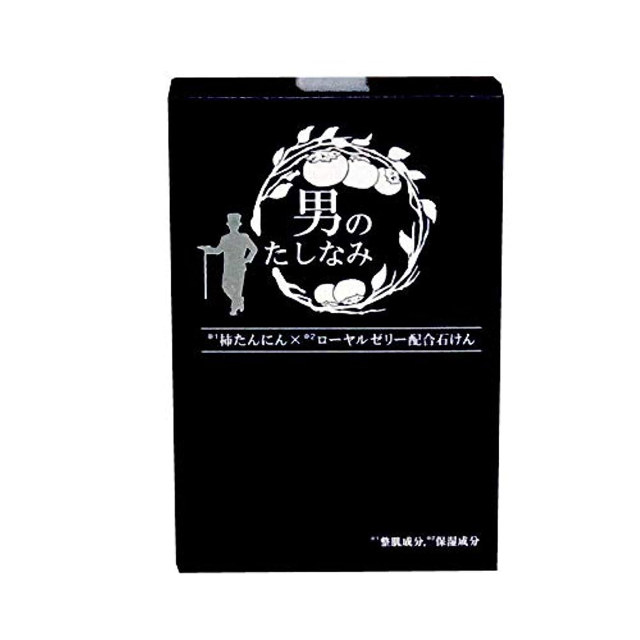 秘密の減少ロール初回 お試し品 柿渋石鹸 男のたしなみ (100g)