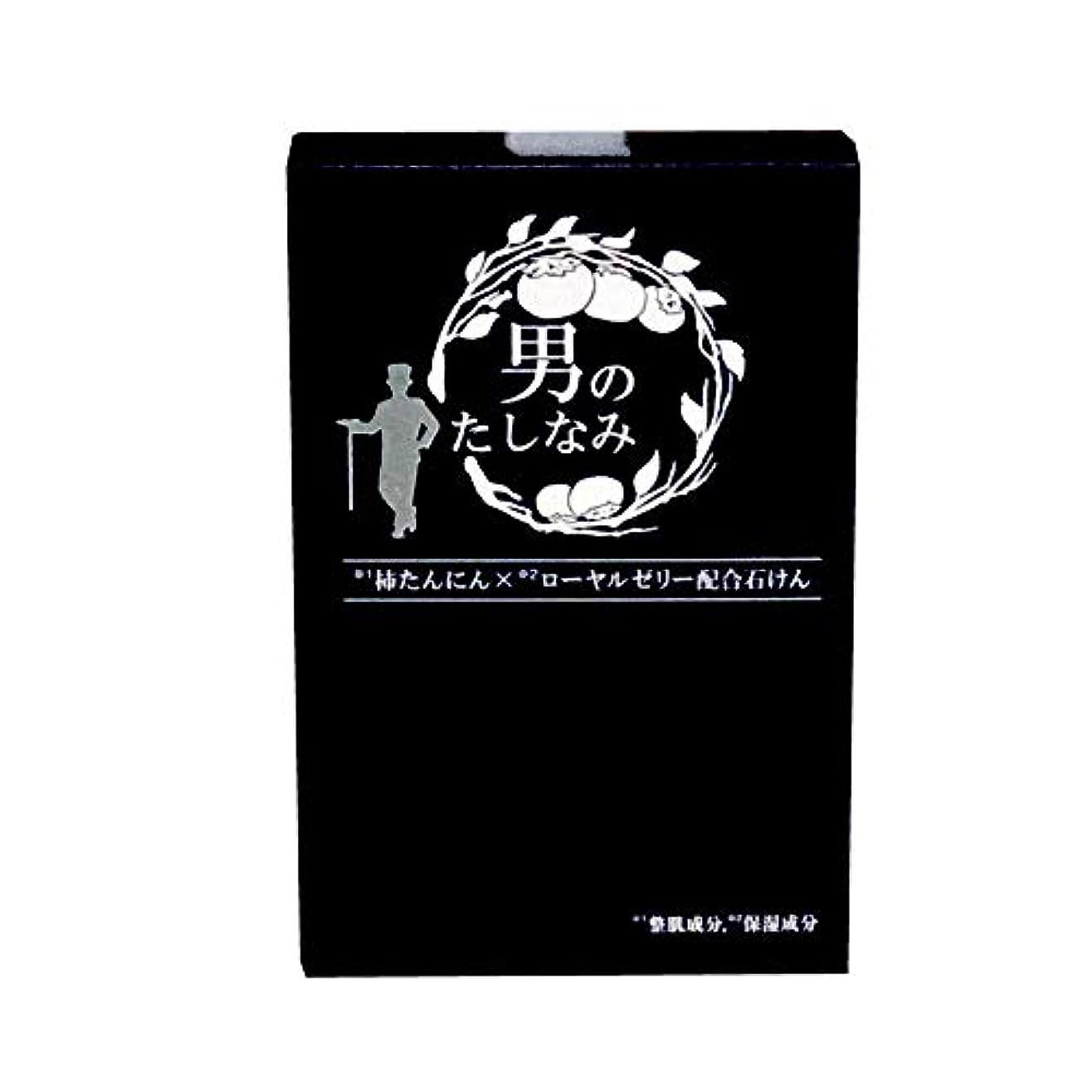 ブラウスバケット奪う初回 お試し品 柿渋石鹸 男のたしなみ (100g)