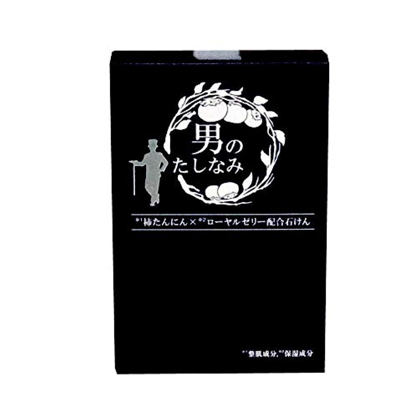 第九識別リル初回 お試し品 柿渋石鹸 男のたしなみ (100g)