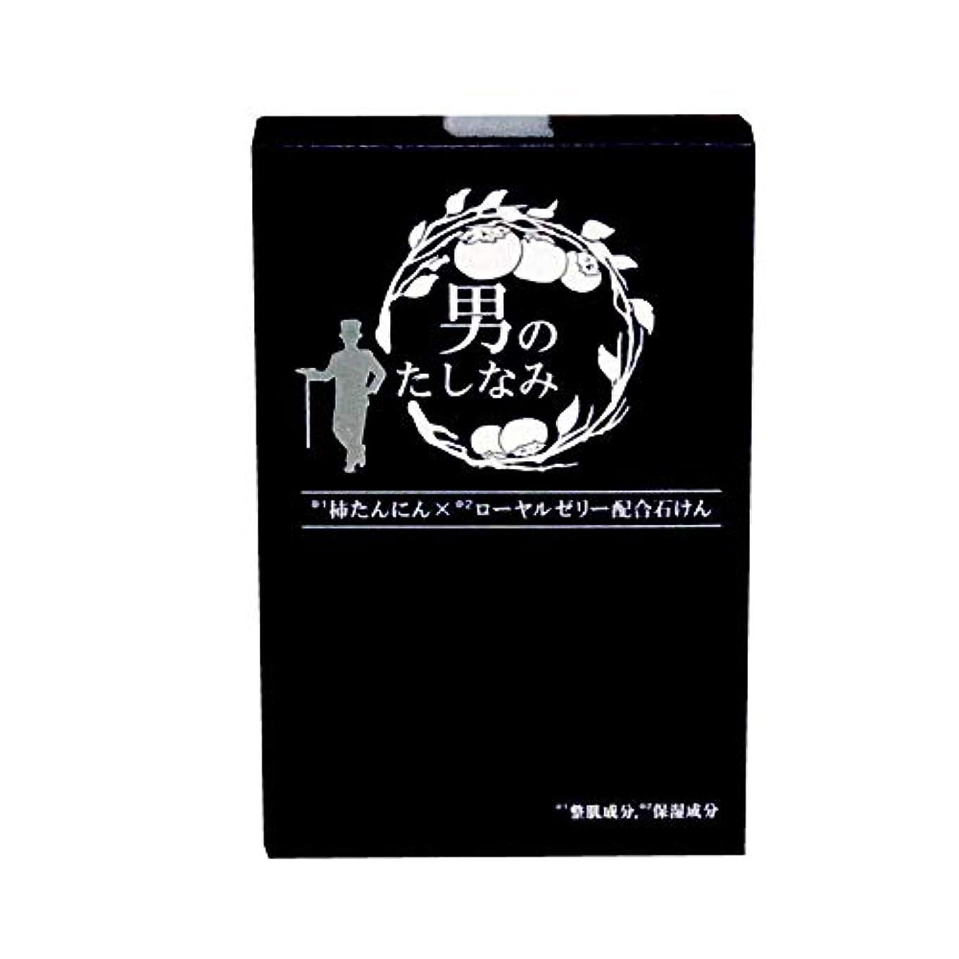 金額検査したがって【初回限定 お試し価格】 柿渋石鹸 男のたしなみ (100g)