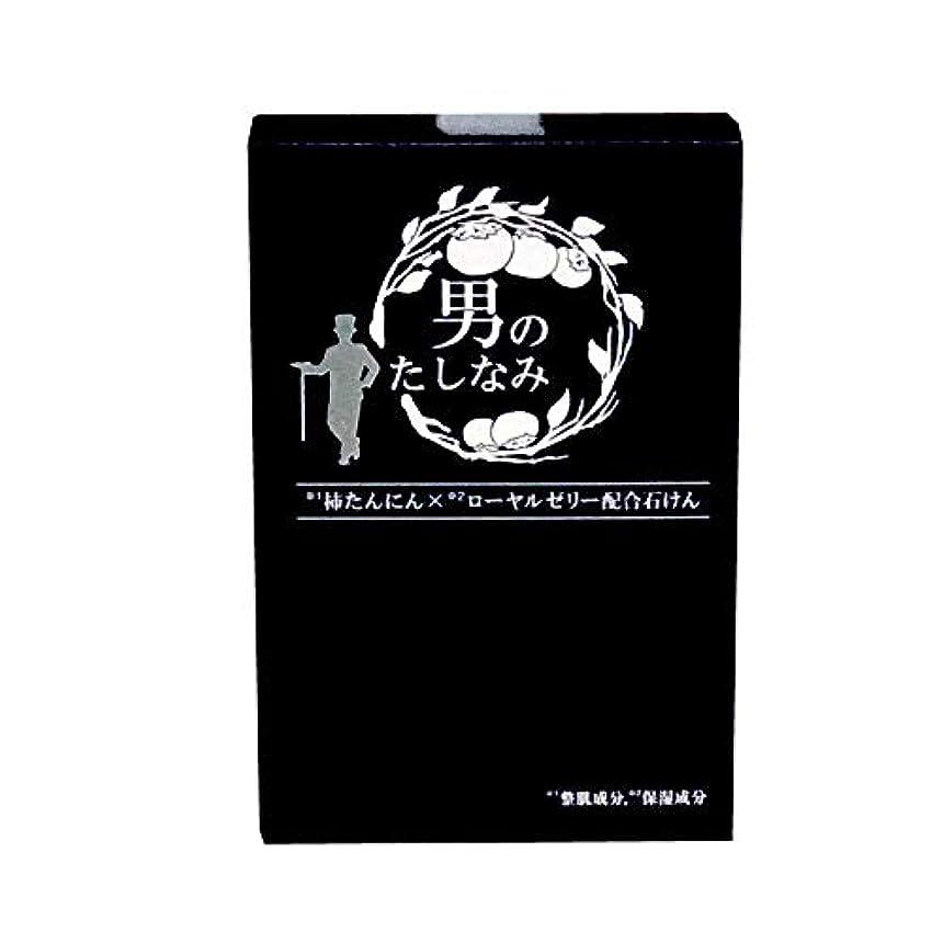 種をまくくつろぐ反抗【初回限定 お試し価格】 柿渋石鹸 男のたしなみ (100g)