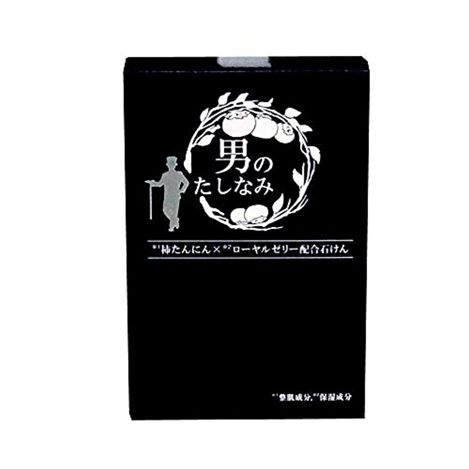 ほうき結び目弾薬初回 お試し品 柿渋石鹸 男のたしなみ (100g)