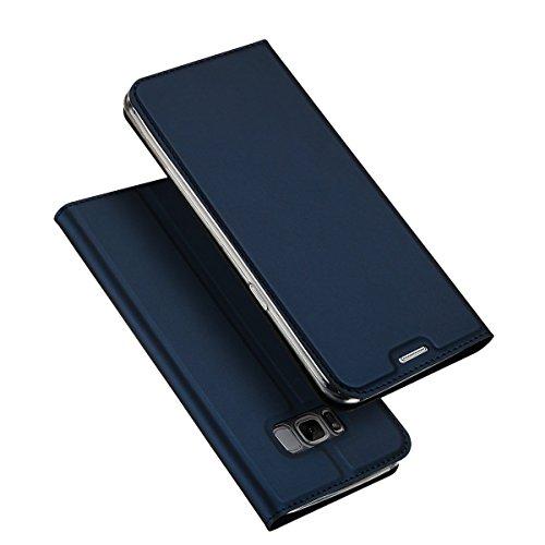 Samsung Galaxy S8 ケース 手帳型 薄型 軽...