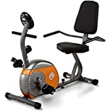 Marcy Recumbent Exercise Bike with Resistance for Cardio Training