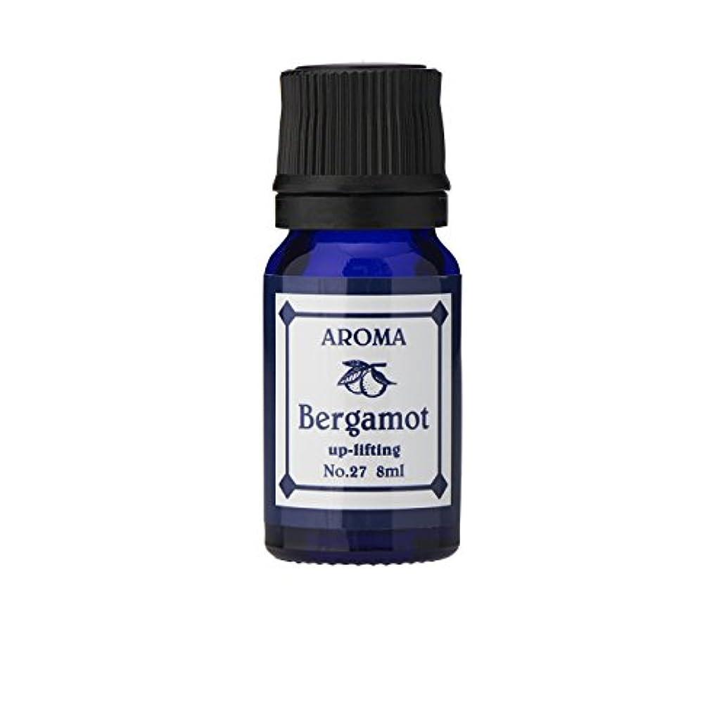 拘束する存在花輪ブルーラベル アロマエッセンス8ml ベルガモット(アロマオイル 調合香料 芳香用)
