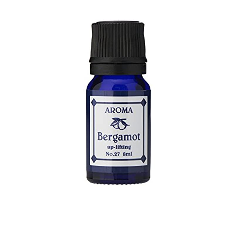 単位有益グレーブルーラベル アロマエッセンス8ml ベルガモット(アロマオイル 調合香料 芳香用)