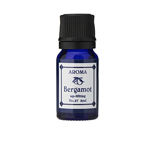 ブルーラベル アロマエッセンス8ml ベルガモット(アロマオイル 調合香料 芳香用)