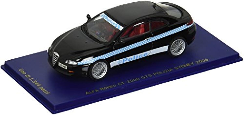 アルファ?ロメオ GT 2000 GTS シドニー警察 06 ブラック (1/43 M47074) 完成品